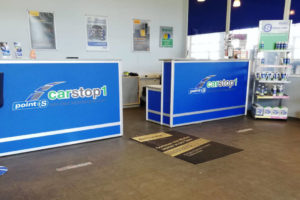 Tresen Carstop1 Möbelfolierung
