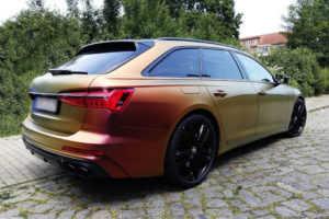 Audi S6 Heck